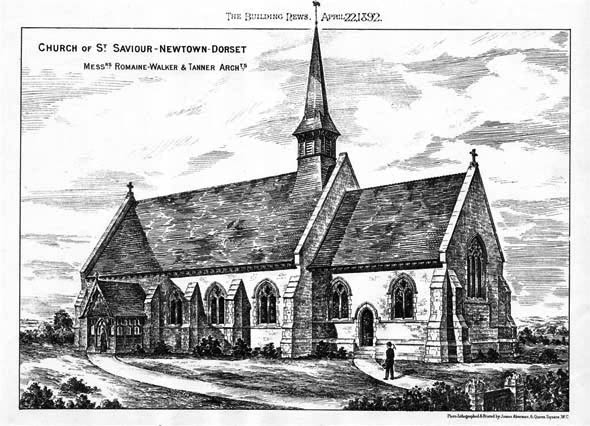 1892 &#8211; Church of St. Saviour, Newtown, Dorset