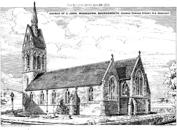 1873 &#8211; Church of St. John, Moordown, Bournemouth, Dorset