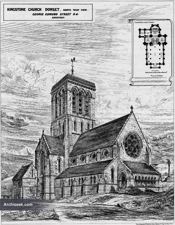 1880 – St. James Church, Kingstone, Dorset