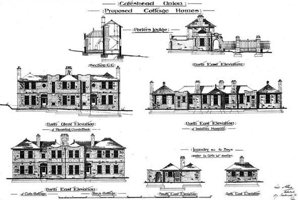 1897 – Proposed Cottage Homes, Gateshead, Durham