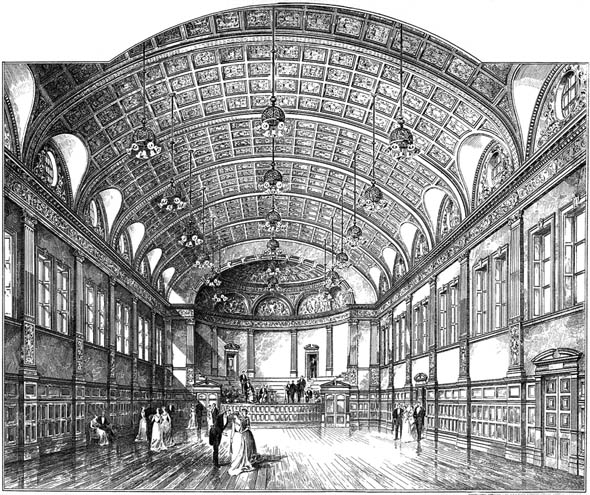 1891 – Royal Assembly Hall, South Shields, Durham