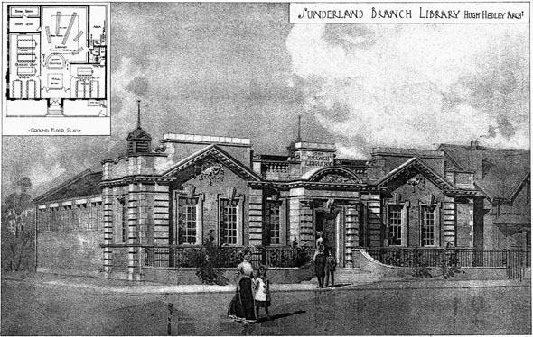 1906 &#8211; Sunderland Branch Library, Durham