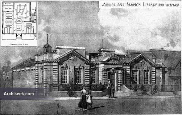 1906 – Sunderland Branch Library, Durham
