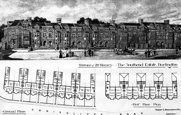 1899 – The Southend Estate, Darlington, Durham