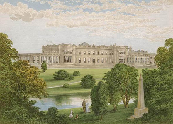 1828 &#8211; Wynyard Park, Durham