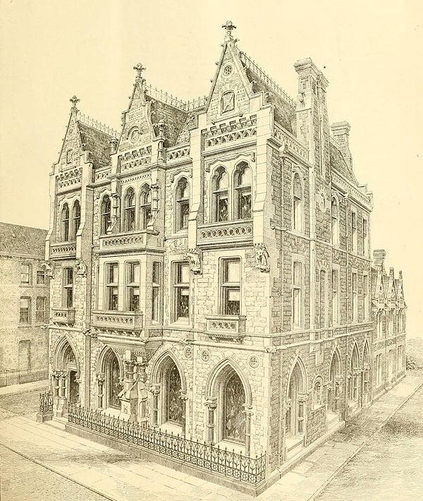 1870 – Backhouse & Co., Bank, Sunderland