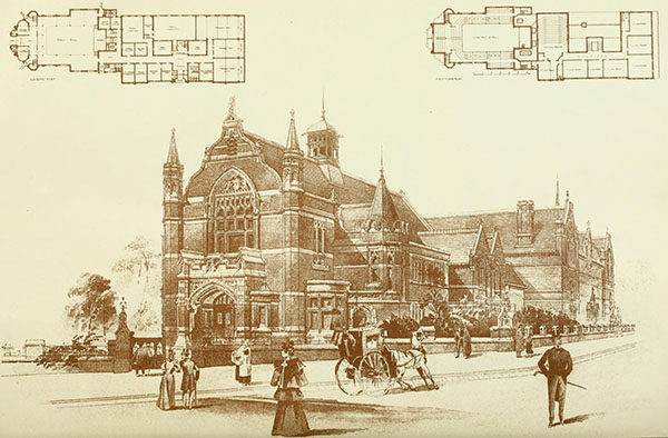 1898 – Technical Schools, West Hartlepool, Durham