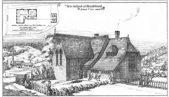 1884 – New School at Brentwood, Essex