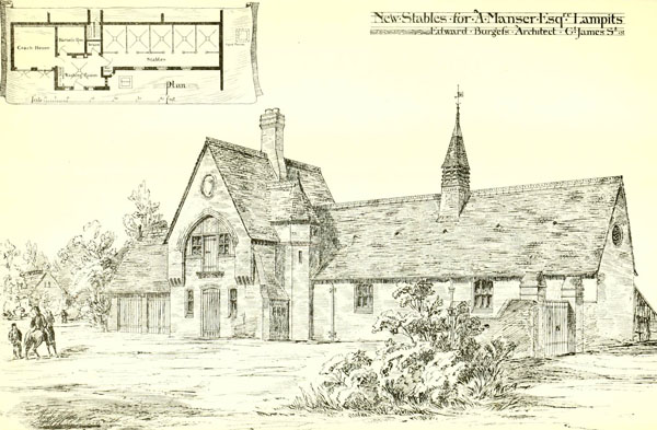 1874 &#8211; New Stables, Lampits, Essex