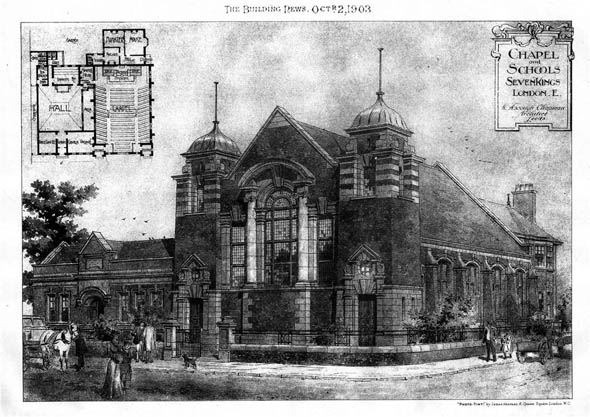 1903 – Chapel & Schools, Seven Kings, Essex