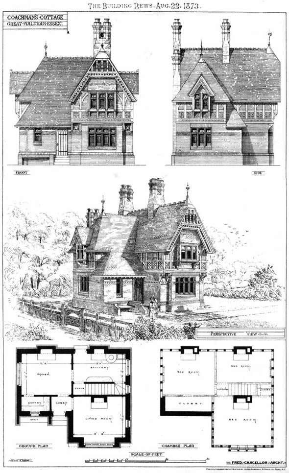 1873 &#8211; Coachmans Cottage, Chelmsford, Essex
