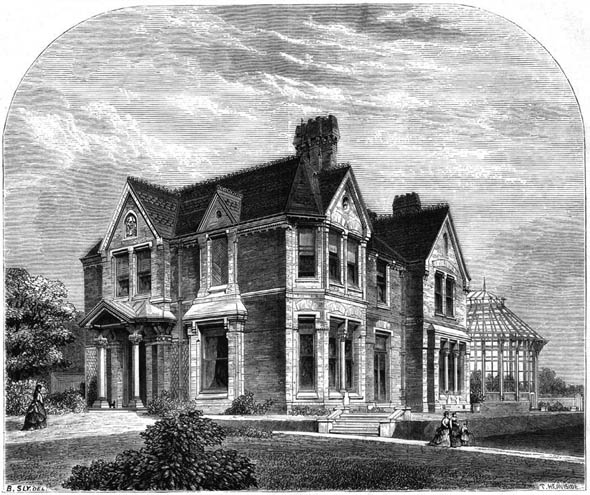 1872 – A Country Residence, Halstead, Essex