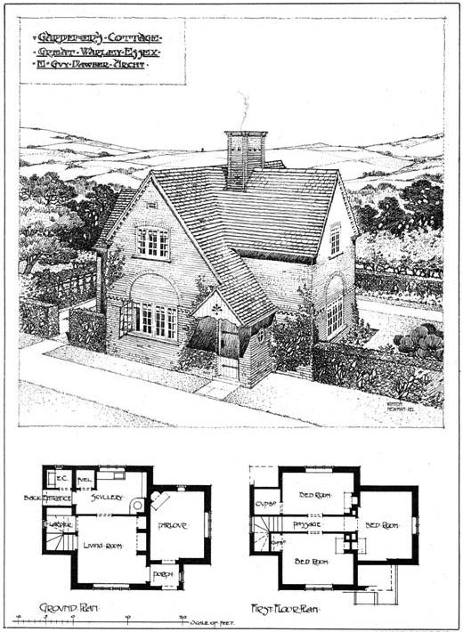 1904 &#8211; Gardeners Cottage, Great Warley, Essex