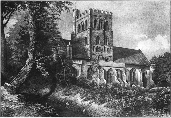 1894 – St. Barnabas Church, Great Tey, Essex