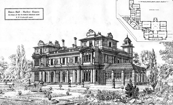 1873 &#8211; Down Hall, Harlow, Essex