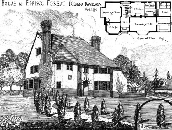1906 &#8211; House at Epping Forest, Essex