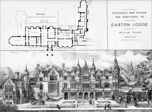 1884 &#8211; Easton Lodge, Great Dunmow, Essex