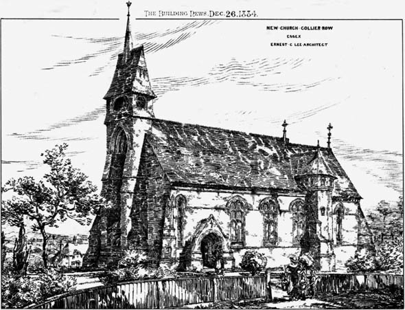 1884 &#8211; New Church, Collier Row, Essex