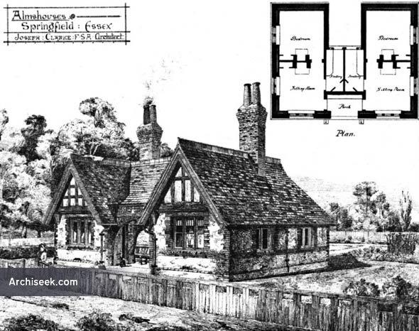 1880 – Almshouses, Springfield, Essex
