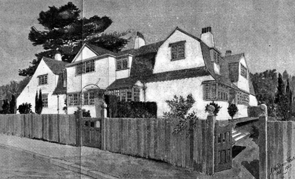 1898 – Semi-Detatched Houses, Buckhurst Hill, Essex
