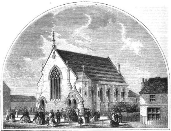 1864 &#8211; Congregational Church, Barking, Essex
