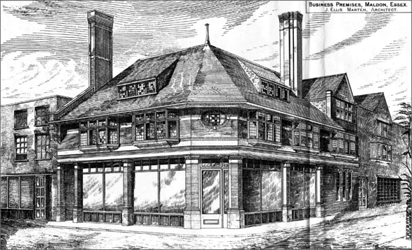 1886 – Business Premises, Maldon, Essex