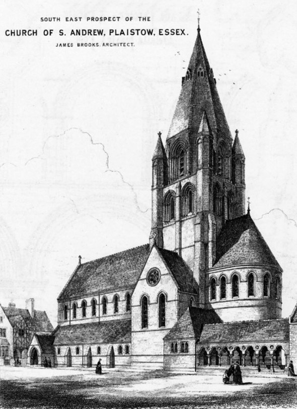 1870 &#8211; Church of St. Andrew, Plaistow, Essex