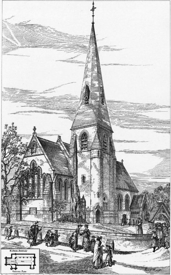 1880 – St. Paul's Church, Bentley Common, Essex