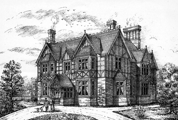 1888 &#8211; &#8220;Hawkstead&#8221;, Buckhurst Hill, Essex