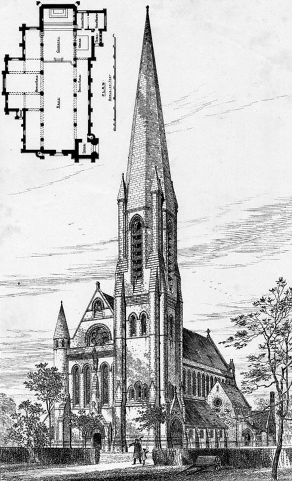 1883 – St. Thomas's Church, Brentwood, Essex