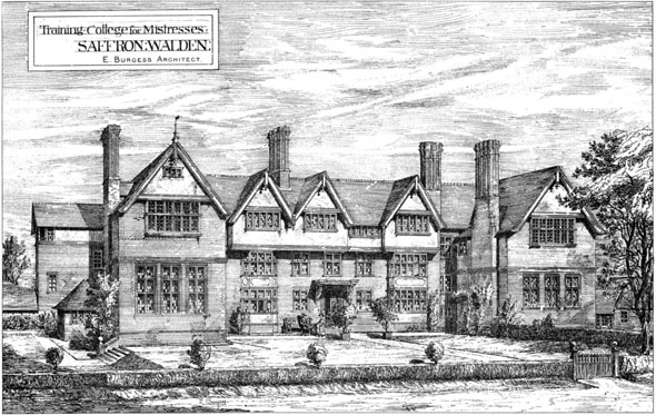 1884 – Training College for Mistresses, Saffron Walden, Essex