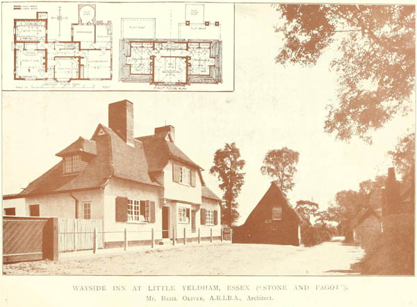 "1919 – ""The Stone & Faggot"" Inn, Little Yeldham, Essex"