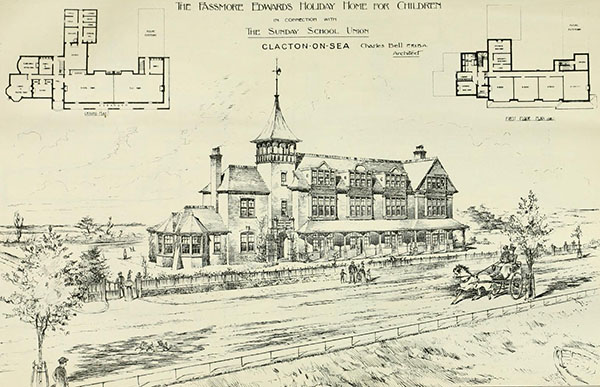 1898 – Passmore Edwards Holiday Home for Children, Clacton-on-sea, Essex