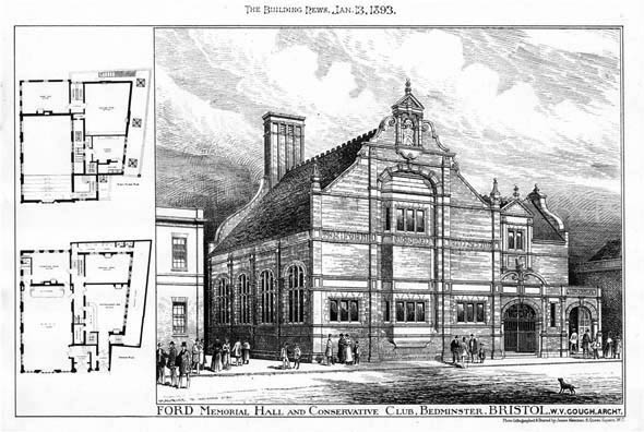 1893 – Ford Memorial Hall, Bedminster, Bristol, Gloucestershire