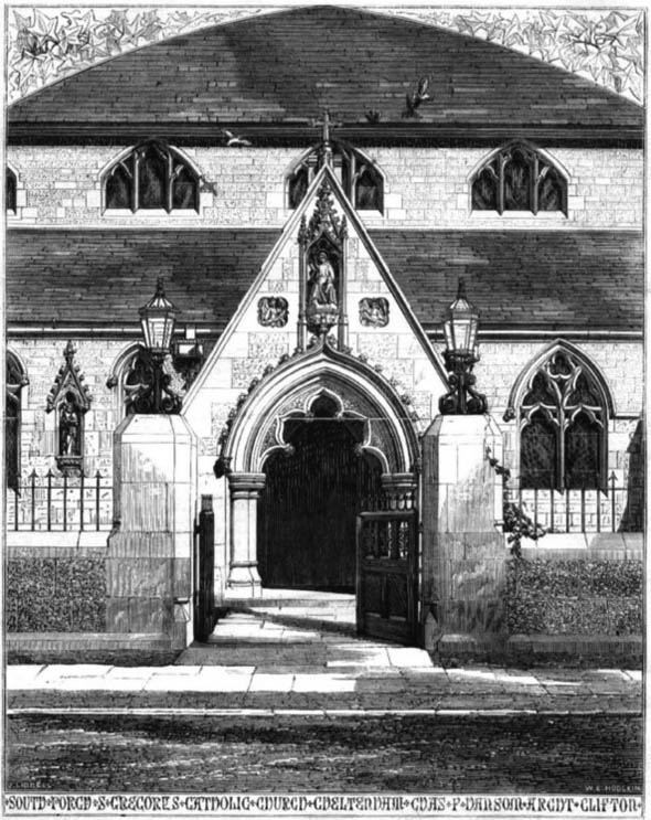 1860 – St. Gregory's Catholic Church, Cheltenham, Gloucestershire