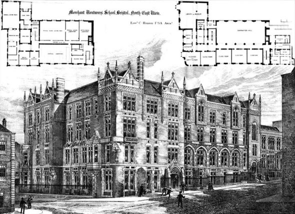 1885 &#8211; Merchant Venturer&#8217;s School, Bristol, Gloucestershire