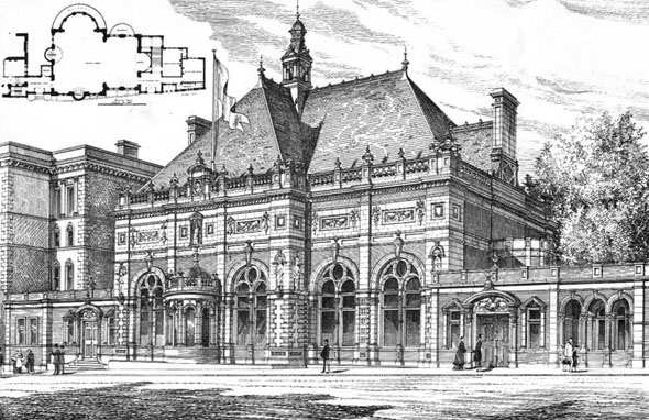 1885 &#8211; Clifton Spa &#038; Pump Room, Clifton, Bristol, Gloucestershire
