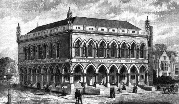 1870 &#8211; Philiosophical Institution and Library, Bristol, Gloucestershire