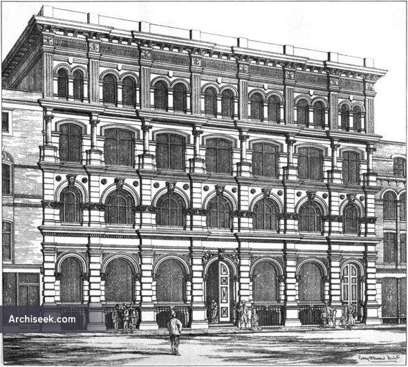 1875 – New Premises, Victoria Street, Bristol, Gloucestershire