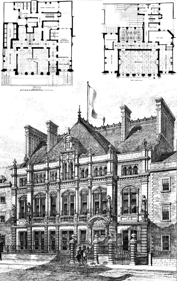 1886 – Bristol Dock Offices, Gloucestershire
