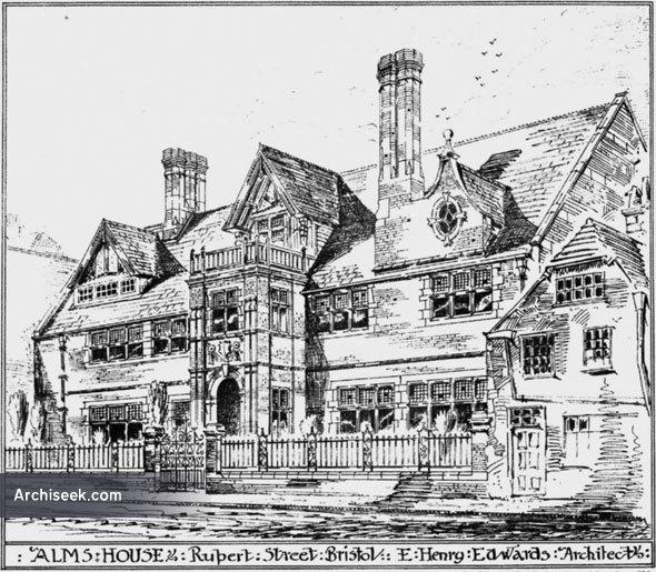 1886 – Alms House, Rupert Street, Bristol, Gloucestershire