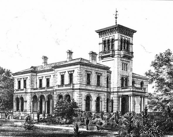1869 – Highfield House, Gloucester