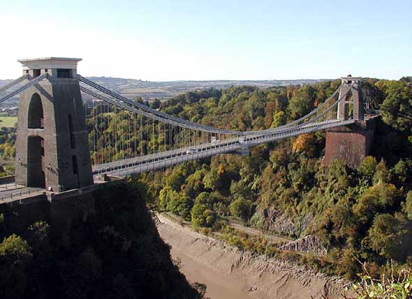 1864 &#8211; Clifton Suspension Bridge, Bristol