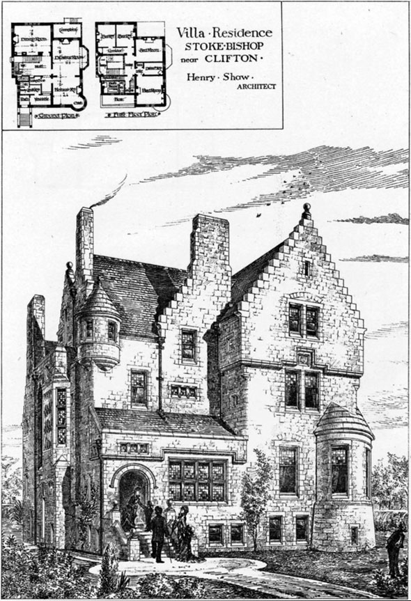 1880 – Villa Residence at Stoke Bishop, Gloucestershire