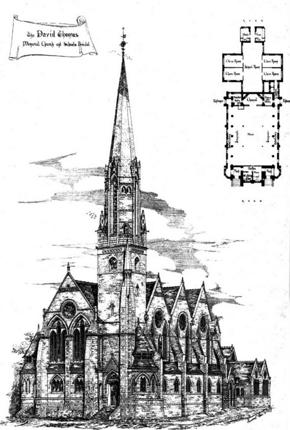 1878 &#8211; The David Thomas Memorial Church &#038; Schools, Bristol