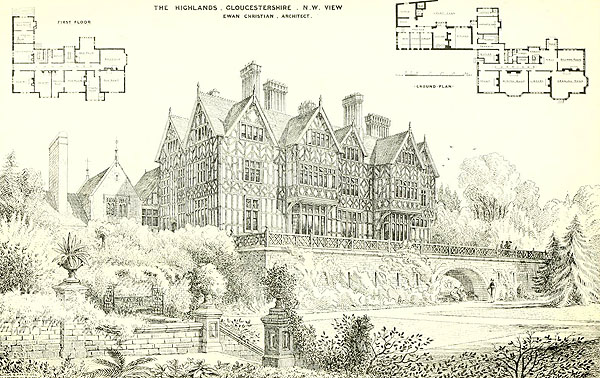 1873 – Highlands or Beaudesert Park School, Gloucestershire