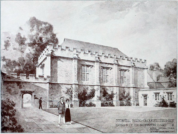 1919 – Badminton Court, Stowell Park, Gloucestershire