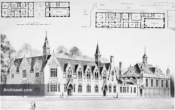 1899 – Public Library & Technical Schools, Gloucester, Gloucestershire