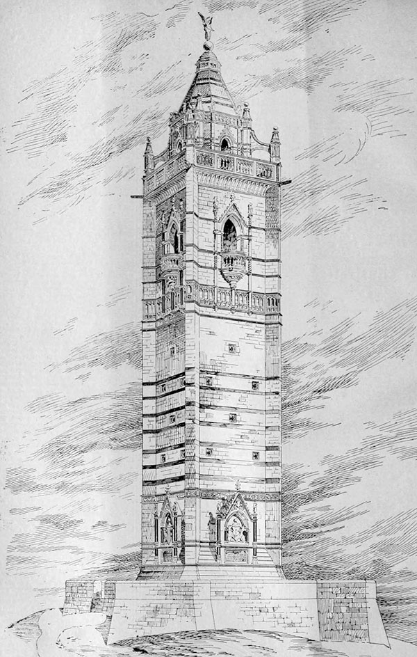 1898 – Cabot Tower, Bristol, Gloucestershire