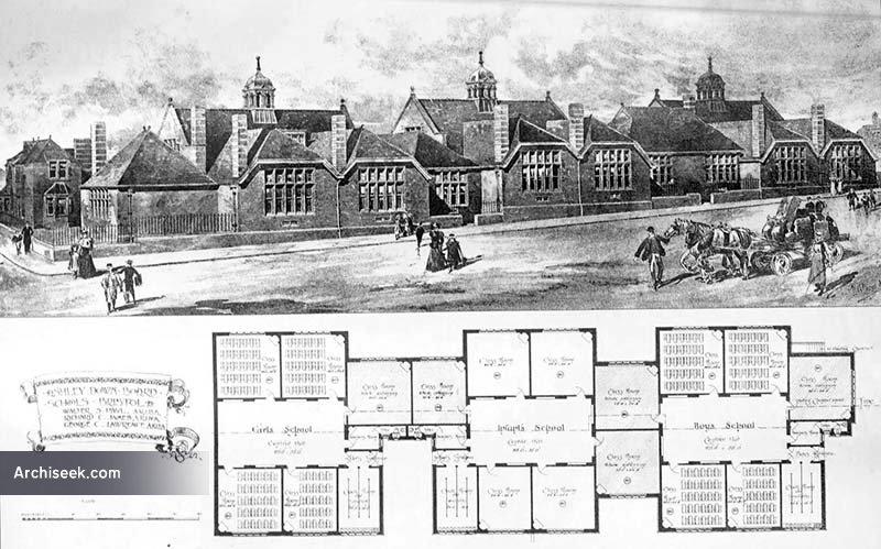 1899 – Schools, Ashley Down, Bristol Gloucestershire